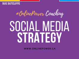 Online Power Coaching - Social Media Strategy - www.OnlinePower.ca