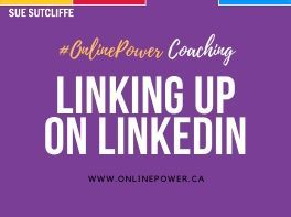 #OnlinePower Coaching - LinkedIn - www.OnlinePower.ca