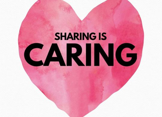 Sharing is caring@